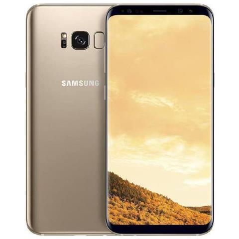 Image of Galaxy S8 Oro 64 GB Display 5.8'' QHD+ Slot Micro SD Fotocamera 12 Mpx Android Vodafone Italia