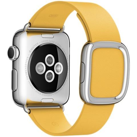 APPLE Cinturino Moderno da 38 mm per Apple Watch Colore Giallo Marigold - Large