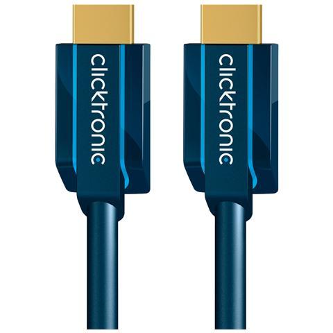 CLICKTRONIC ICOC CLC-H-020 - Cavo HDMI High Speed Ethernet A / A M / M 2 m Alta Qualità