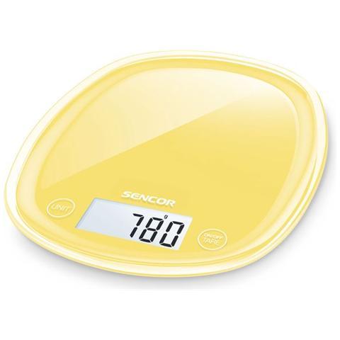 Bilancia Digitale da Cucina Portata 5 Kg Colore Giallo