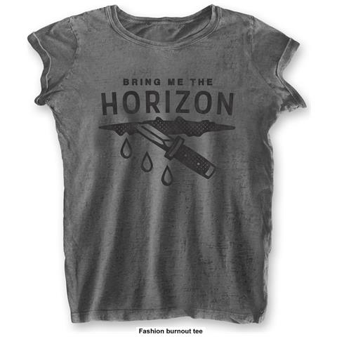 ROCK OFF Bring Me The Horizon - Wound (T-Shirt Donna Tg. XS)