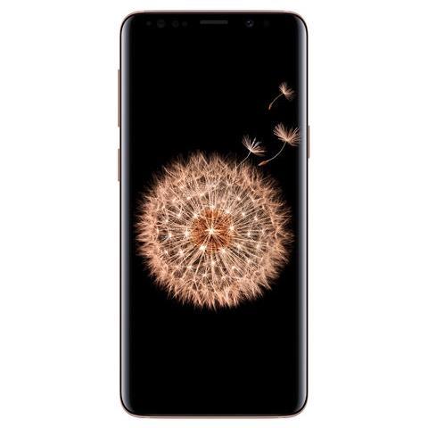 "SAMSUNG S9+ Oro 256 GB 4G / LTE Dual Sim Impermeabile Display 6.2"" Quad HD Slot Micro SD Fotocamera 12 Mpx Android Italia"