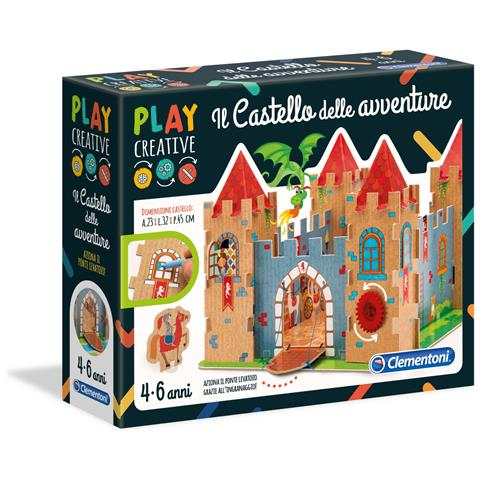 CLEMENTONI CLM15260 Play Creative - Il Castello delle Avventure