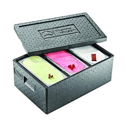Box Termico Per Trasporto Vasche Gelato Polipropilene Alta Densita' Thermoauser Made In Germany