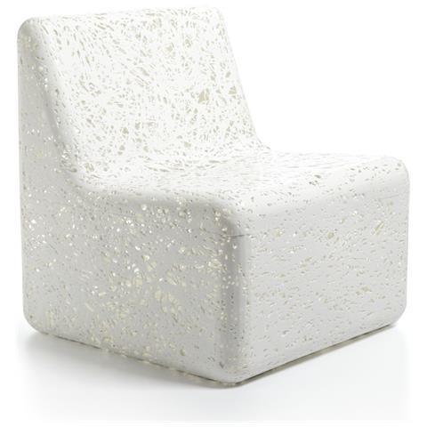 Emporium Poltrona Cora Plastico Termofuso Bianco Componenti D'arredo Design