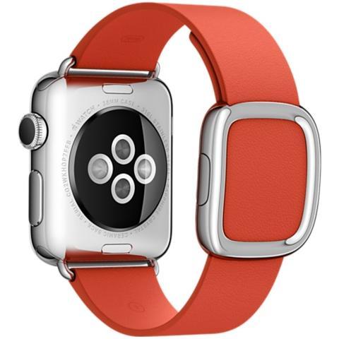 APPLE Cinturino Moderno da 38 mm per Apple Watch Colore Rosso - Large