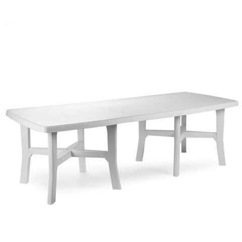 Tavolo Allungabile Colore Bianco - Modello Trio Plus