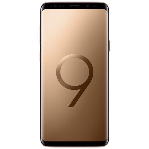Image of Galaxy S9 Oro Dual Sim Display 5.8'' Quad HD Quad Core Ram 4GB Storage 64GB +Slot MicroSD Wi-Fi + 4G Fotocamera 12Mpx Android - Italia
