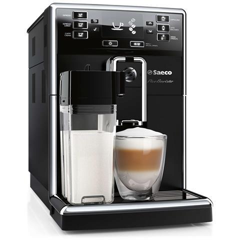Macchina da Caffè Espresso Automatica HD8925/01 Serbatoio 1.8 Lt Colore Nero e Acciaio Inox