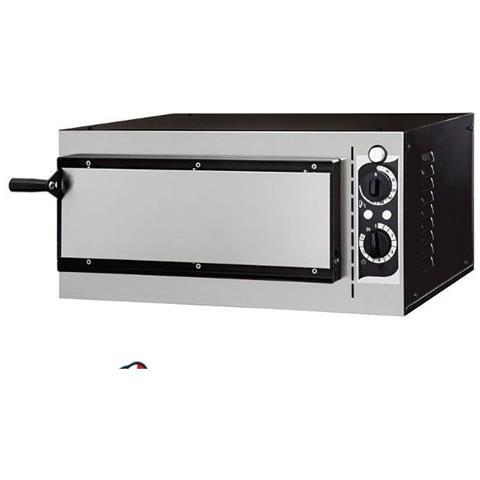 Forno elettrico meccanico per pizzeria - pizza ø32 cm - dimensioni esterne 56.8x50x28 cm