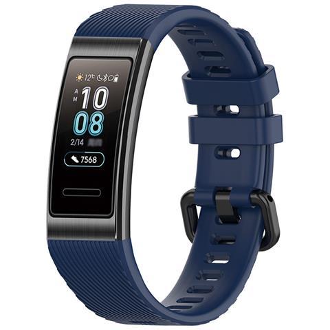 Image of Activity Tracker Band 3 Pro Impermeabile 5ATM Display 0.95'' con Bluetooth GPS Cardiofrequenzimetro - Blu