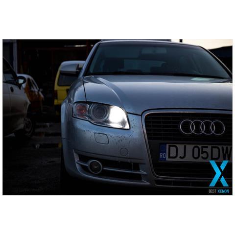 Kit Xenon H7 6000°k Canbus 2.0 Slim 35 Watt In Ferro Perfetto Per Audi A4 B7 Versione Dal...