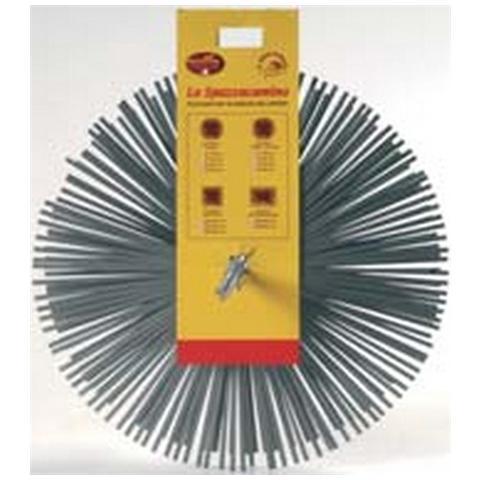 BEST FIRE 06233 Scovolo Tondo in Acciaio da 25 cm