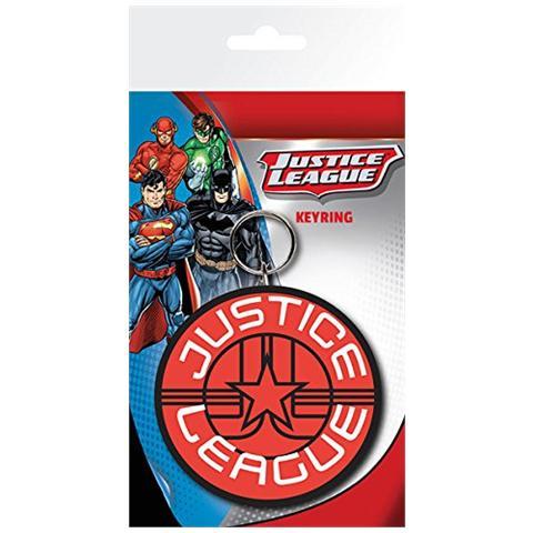 GB EYE LTD Dc Comics - Justice League Star (Portachiavi Gomma)