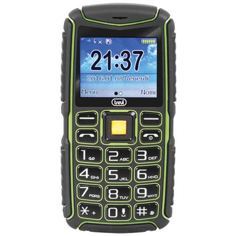 "TREVI Forte 80 Senior Phone Antiurto Display 2"" +Slot MicroSD con Tasti Grandi"