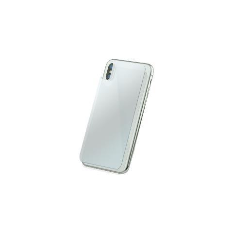 FONEX Protezione Posteriore in Vetro Temperato Durezza 9H Anti-Graffio e Anti-Urto per Apple iPhone X (1Pz)
