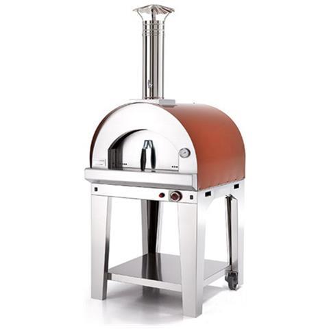 Forno Pizza Margherita 60x60 - Rosso