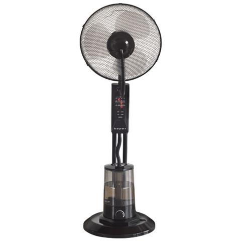 Ventilatore A Piantana Con Telecomando E Nebulizzatore Acqua Aria Estate Caldo