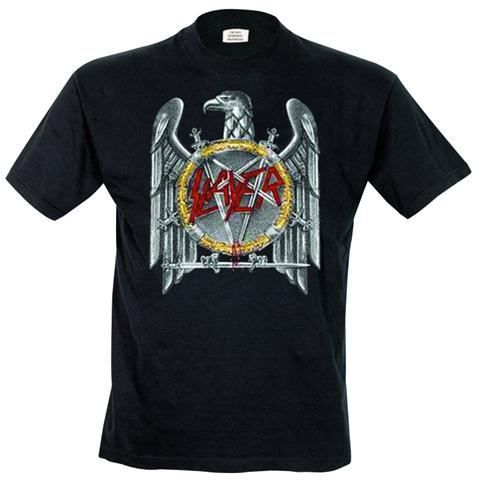 Rock Off Retail Limited Slayer - Silver Eagle (T-Shirt Unisex Tg. XL)