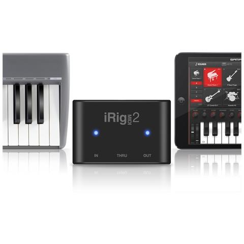 IK MULTIMEDIA iRig Midi 2 Interfaccia Midi per iOS Mac / PC (lightning / USB)