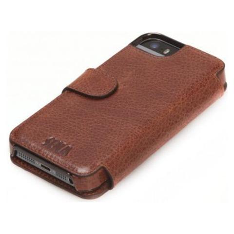 SENA Cases Heritage Wallet Book iPhone 6 / 6s Plus Cognac