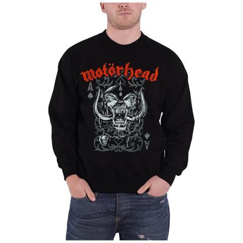 ROCK OFF Motorhead - Ace Of Spades Black (Felpa Unisex Tg. XL)