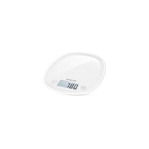 Bilancia Digitale da Cucina Portata 5 Kg Colore Bianco