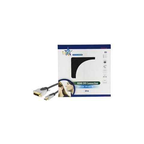 HQ SS5551/20 20m HDMI DVI-D Nero