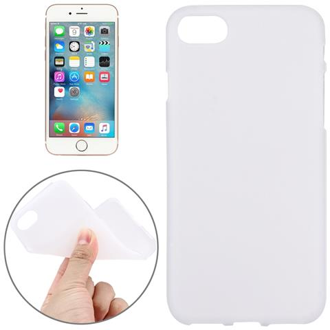 NetworkShop Custodia Cover Case Di Protezione Tpu Cover Bianco Per Iphone 7