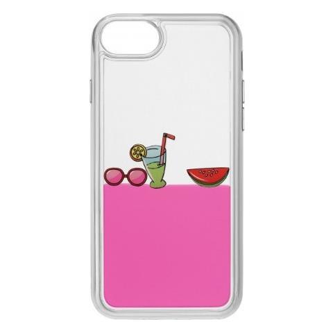 CELLULAR LINE Cover con liquido Rosa per iPhone 5