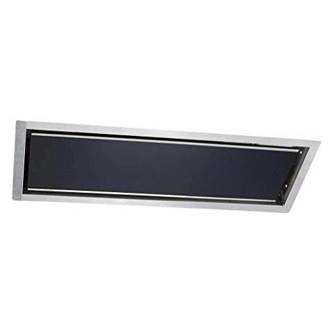 Plafoniera Da Incasso - Stufa Relax Glass 1500 Watt, [ colore Alloggiamento] : Nero - Allo...