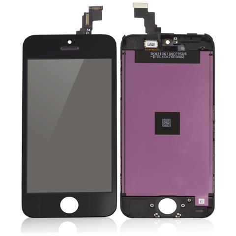 MICROSPAREPARTS MOBILE MOBX-IPO5C-LCD-B Display Nero 1pezzo (i) ricambio per cellulare