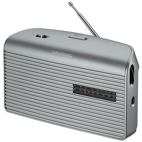 Grundig Radio Portatile Music 60 GRN1510 - Argento