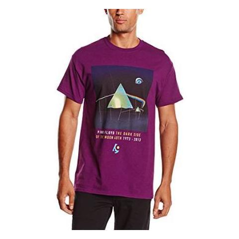 ROCK OFF Pink Floyd - Dsotm 40th Dail Sleep Purple (T-Shirt Unisex Tg. 2XL)