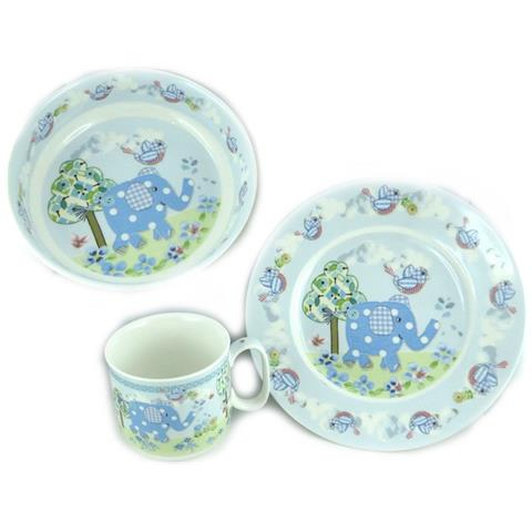 Les Trésors De Lily set pasti bambino 'eléphant' blu - [ l1962]