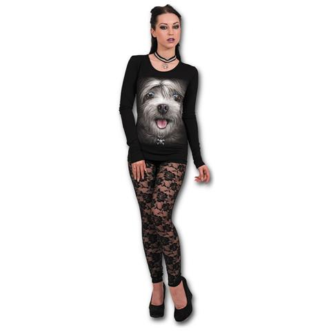 SPIRAL Misty Eyes - Baggy Black (Canotta Donna Tg. M)