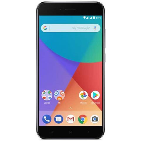 "XIAOMI Mi A1 Nero 64 GB 4G / LTE Dual Sim Display 5.5"" Full HD Slot Micro SD Fotocamera 12 Mpx Android"