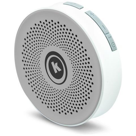 KENTRON Altoparlante Portatile per Smartphone Bluetooth Grigio
