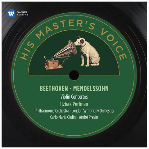 WARNER BROS Perlman / giulini - Beethoven & Mendelssohn / violin