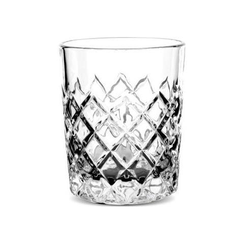 Bicchiere Tumbler Vintage 310 Ml Confezione 12 Pz Attrezzatura Barman Bartender Rs9255