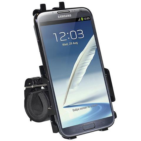 AMZER AMZ95676 Bicicletta Passive holder Nero supporto per personal communication