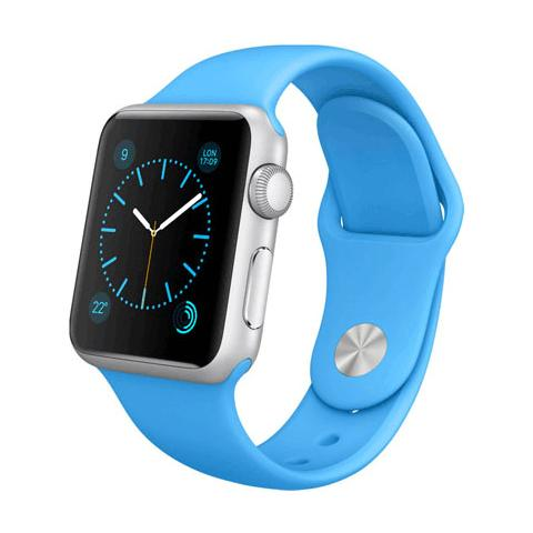 FONEX Cinturino WristBandi n silicone per Apple Watch da 42mm - Blu