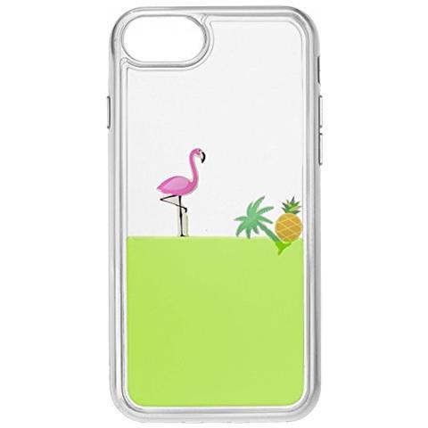 CELLULAR LINE Cover con liquido Verde per iPhone 7