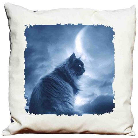 Cuscino Decorativo Gatto Nero 2
