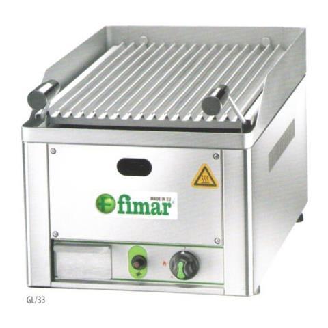 Griglia Pietra Lavica Gas Barbecue Grill Cm 33x54x22 Rs3392