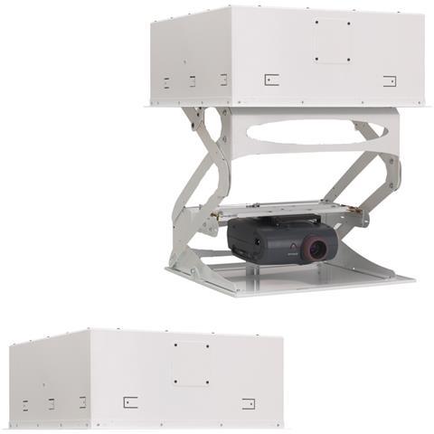 CHIEF SL236SPI, Soffitto, 15,9 kg, Bianco, 64,8 cm, 72,4 cm, 28,2 cm
