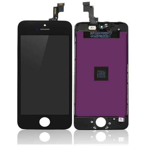 MICROSPAREPARTS MOBILE MOBX-IPO5S-LCD-B Display Nero 1pezzo (i) ricambio per cellulare