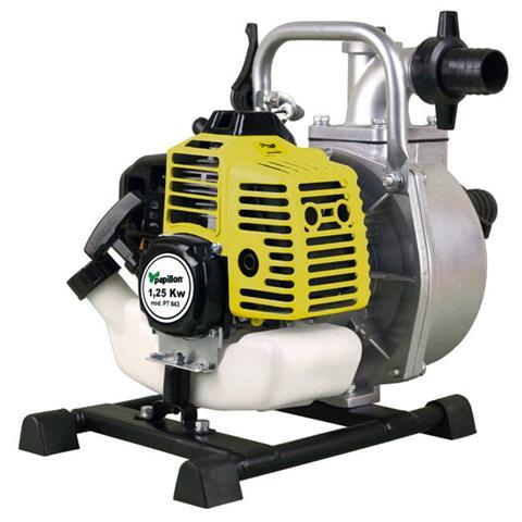 Image of Motopompa autoadescante per irrigazione motore a scoppio 2t prevalenza 8 m