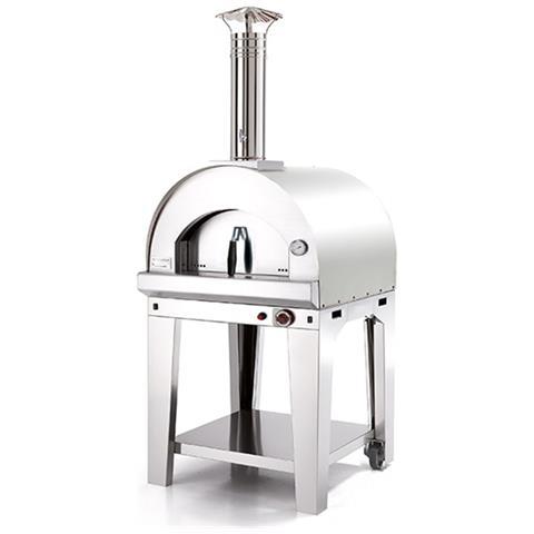 Forno Pizza Margherita 60x60 - Acciaio
