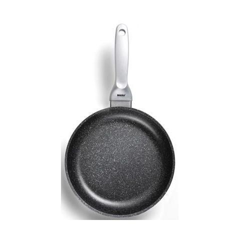 Padella 1 Manico Antiaderente ad Induzione Diametro 24 cm - Linea Granito Premium Induction